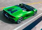 Lamborghini Huracán Evo Spyder následuje kupé. Má výkonnější desetiválec i moderní techniku