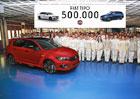 Fiat Tipo slaví. Na svém kontě má 500.000 vyrobených kusů