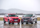 Ford Edge 2.0 EcoBlue Bi-Turbo vs. Škoda Kodiaq RS 2.0 BiTDI – Závod ve šplhu