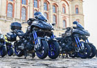 Revoluční tříkolová Yamaha Niken oficiálním motocyklem slavných cyklistických závodů