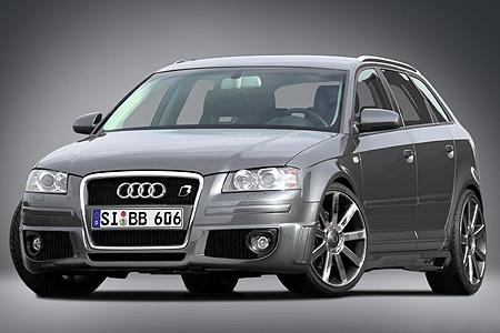 Audi A3 Sportback: Vitamíny od B&B