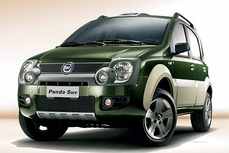 Fiat Panda Cross: Panda 4x4 v SUV kabátku