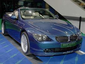 Alpina - D3, B6 cabrio ve Frankfurtu 2005