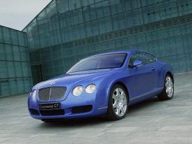 Bentley v Paříži 2004