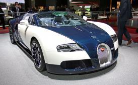 Bugatti  v Ženevě 2010