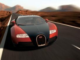 Bugatti v Ženevě 2005