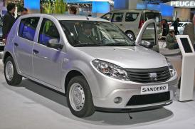 Dacia v Paříži 2008