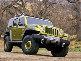 Jeep v Paříži 2004