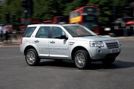 Land Rover v Paříži 2008