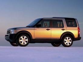 Land Rover v Paříži 2004