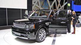 Land Rover v Ženevě 2010