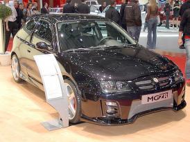 MG Rover v Ženevě 2005