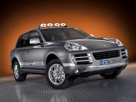 Porsche v Paříži 2008
