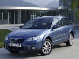 Subaru v Paříži 2006