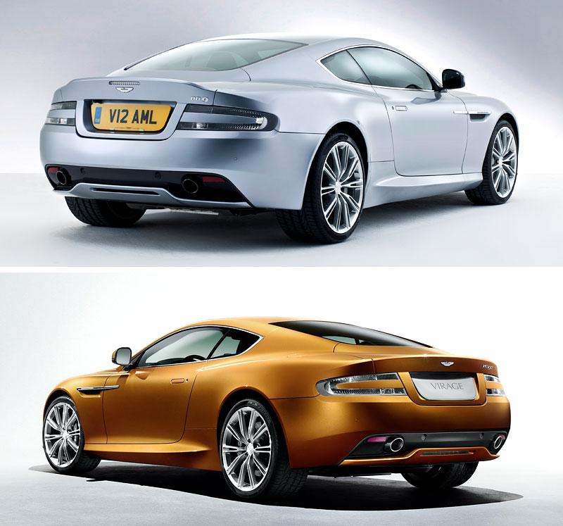 Nový Aston Martin DB9 Se Dřív Jmenoval Virage