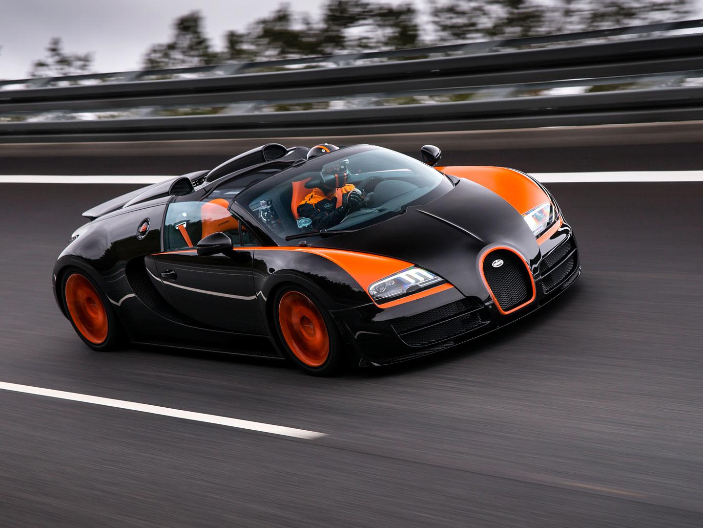 bugatti veyron grand sport vitesse world record car nejrychlej kabrio sv t. Black Bedroom Furniture Sets. Home Design Ideas