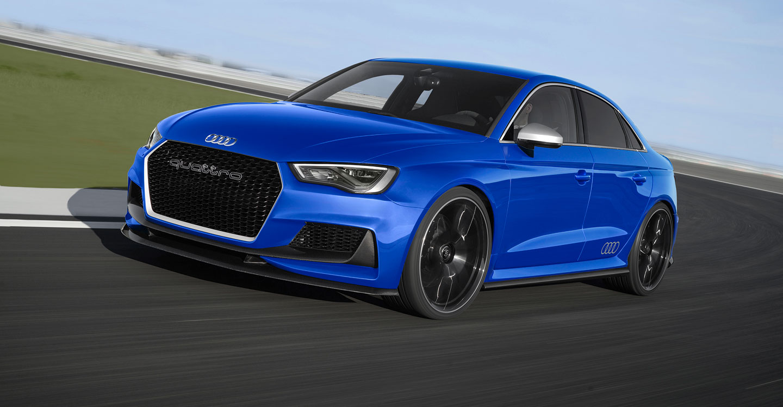 Nov Audi Rs 3 Se Inspiruje Konceptem A3 Clubsport Quattro