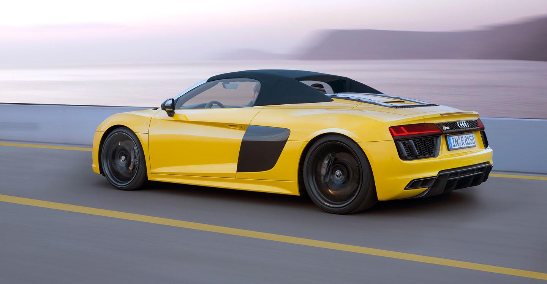 Galerie Audi R8 Spyder V10 Je Tady Shodilo Přes Sto Kilo