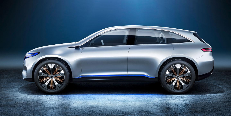 GALERIE: Mercedes-Benz Generation EQ: Elektrické SUV s 300 ...