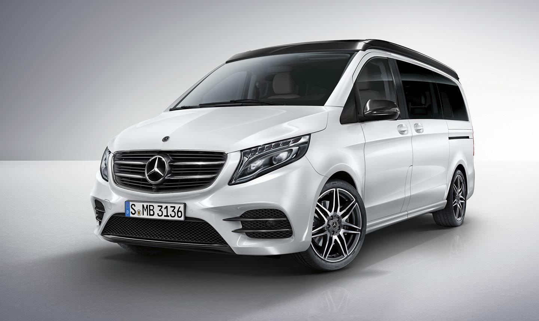 Mercedes benz pro caravan salon d sseldorf 2017 for Mercedes salon