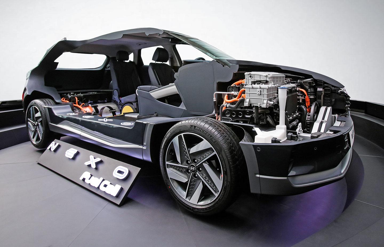 hyundai nexo je ohl en m n stupcem vod kov ho ix35 fuel cell. Black Bedroom Furniture Sets. Home Design Ideas