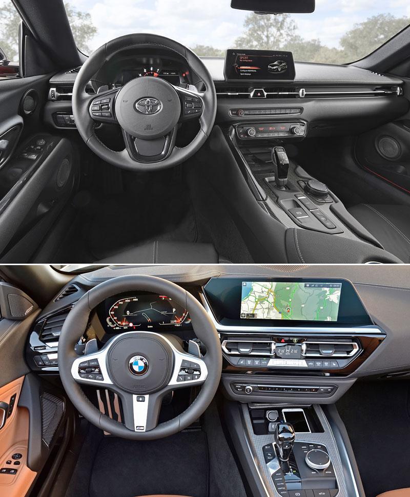 2019 Toyota Supra And Bmw Z4: Toyota Supra Vs. BMW Z4: Prozkoumejte Sourozence S
